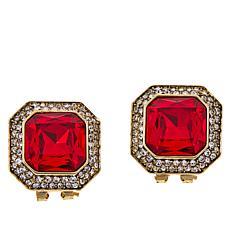 """Heidi Daus """"Simply Sensational"""" Crystal Earrings"""