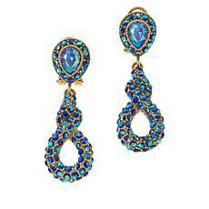 """Heidi Daus """"Sleek and Sophisticated"""" Crystal Earrings"""