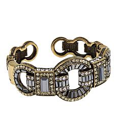 "Heidi Daus ""Sparkle is a Many Splendid Thing"" Crystal Cuff Bracelet"