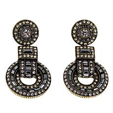 "Heidi Daus ""Sparkle is a Many Splendid Thing"" Crystal Drop Earrings"