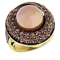 "Heidi Daus ""Sparkling Traditions"" Round Ring"