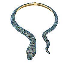 "Heidi Daus ""Spectacular Serpent"" Crystal Collar Necklace"