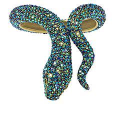 "Heidi Daus ""Spectacular Serpent"" Crystal Cuff Bracelet"