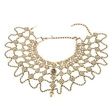 "Heidi Daus ""Speechless"" Crystal-Accented Bib Necklace"