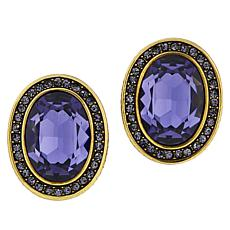 "Heidi Daus ""Tailored Elegance"" Crystal Earrings"