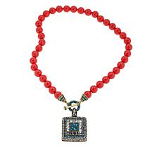 "Heidi Daus ""Tantalizing Trio"" Beaded Crystal Drop Necklace"