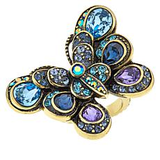 "Heidi Daus ""The Dance of the Butterflies"" Crystal Ring"