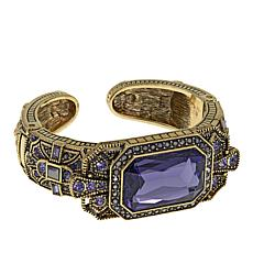 "Heidi Daus ""The Deco Trilogy"" Crystal Cuff Bracelet"
