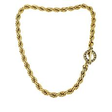 "Heidi Daus ""Thoroughly Modern"" Rope-Link Chain Necklace"