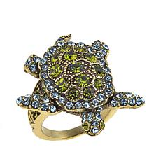 "Heidi Daus ""Turttley Obsessed"" Crystal Ring"