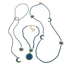 "Heidi Daus ""Twilight Trilogy"" 3-piece Necklace Set"