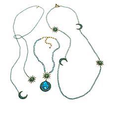 "Heidi Daus ""Twilight Trilogy"" 3-piece Necklace Set"