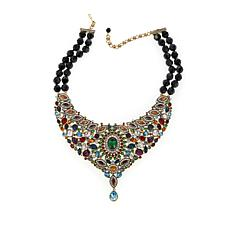 "Heidi Daus ""Worth the Wait"" Beaded Drop Necklace"