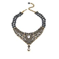 """Heidi Daus """"Worth Waiting For"""" 2-Strand Drop Necklace"""