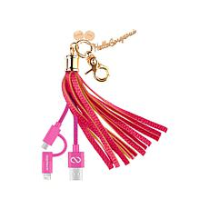 Hello Gorgeous 2-in-1 Charging USB Cable and Key Chain