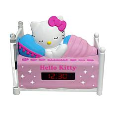 Hello Kitty Sleeping Kitty Clock Radio with Night Light