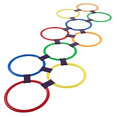 Hey! Play! Indoor/Outdoor Hopscotch Ring Game