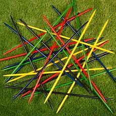 Hey! Play! Jumbo Pick Up Sticks Classic Wooden Game