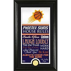 "Highland Mint ""House Rules"" Bronze Coin Photo Mint - Phoenix Suns"