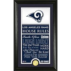 Highland Mint Los Angeles Rams Jersey House Rules Supreme Photo Mint