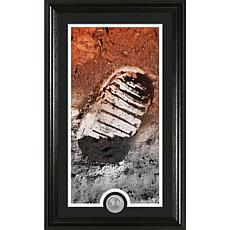 Highland Mint Moon Landing Footprint Supreme Photomint