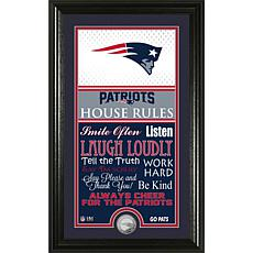 Highland Mint New England Patriots Jersey House Rules Photo Mint