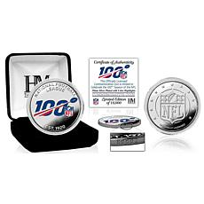 Highland Mint NFL 100th Anniversary Silver Mint Coin