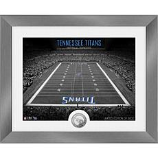 Highland Mint Tennessee Titans Art Deco Stadium Silver Coin Photo Mint