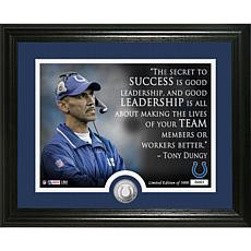 Highland Mint Tony Dungy Quote Bronze Coin Photo Mint
