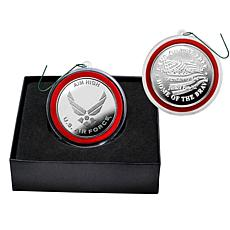 Highland Mint United States Air Force Silver Mint Coin Ornament