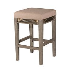 Hillsdale Furniture Bayshore Backless Counter Stool - Distressed Gray