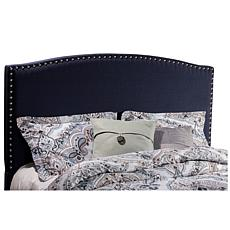 Hillsdale Furniture Kerstein Full Headboard with Frame - Navy Linen