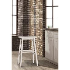 Hillsdale Furniture Moreno Backless Counter Stool - Sea White