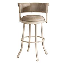 Hillsdale Furniture Westport Swivel Counter Stool - Gray Faux Leather