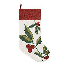 Holly Berries Stocking