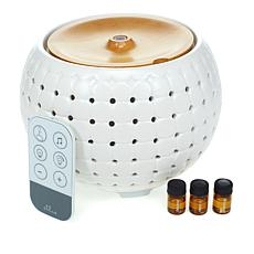 Homedics Ellia Aroma Diffuser with 3 Essential Oils