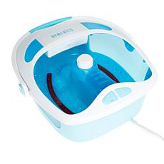 HoMedics Shower Bliss Footspa with Heat Boost and Pedicure Center