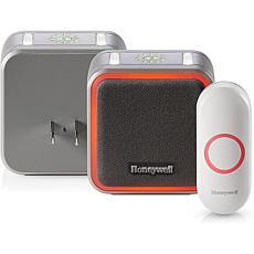 Honeywell Series 5 Plug-In Wireless Doorbell w/Halo Light & Button