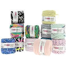 Hoooked Baby Zpagetti Yarn Set 12 Skeins - Printmix