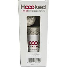 Hoooked Donkey Joe Yarn Kit with Eco Brabante Yarn - Biscuit