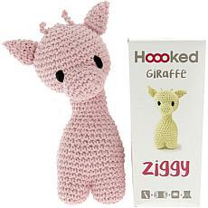 Hoooked Ziggy Giraffe Kit with Eco Barbante Yarn - Blossom