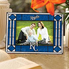 Horizontal Glass Picture Frame - Kansas City Royals