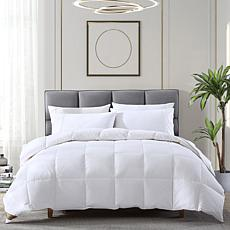 Hotel Laundry Natural White Down & Feathers All-Season Comforter, Twin