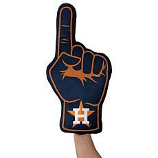 Houston Astros Plushlete Fan Finger Pillow