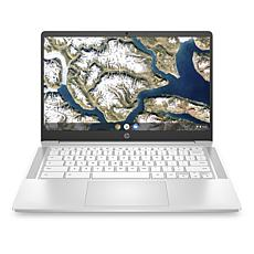 "HP 14"" Chromebook AMD 3015ce 4GB RAM, 32GB Storage - Ceramic White"