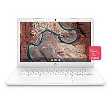 "HP 14"" Touch White AMD 4GB 32GB Chromebook"