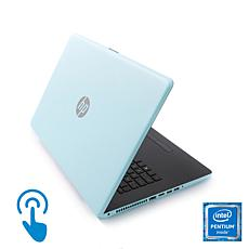 """HP 15.6"""" Touch Intel Quad-Core Laptop w/5-Year Tech Support & TaxAct"""