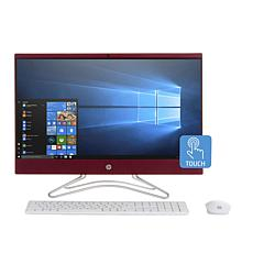 """HP 23.8"""" Touch AMD A9 8GB RAM, 1TB HDD All-in-One PC Bundle"""