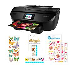 HP ENVY All-In-One Wireless Photo Printer with Paper House Bundle
