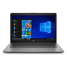 "HP Stream 14"" Black Laptop with 4GB 32GB"